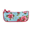 Pink Magnolias Brush Cosmetic Bag