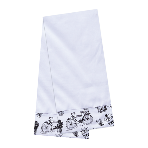 Cafe Toile Tea Towels Set of 2