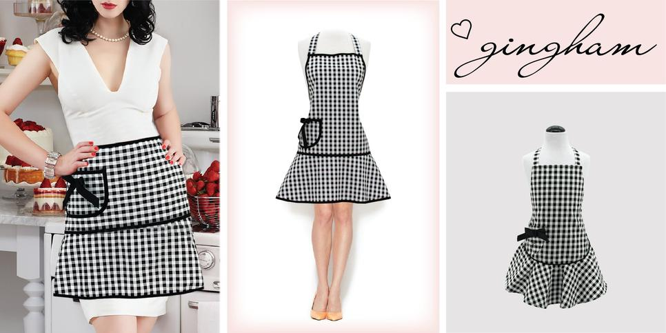 Jessie Steele Gingham Apron Collection