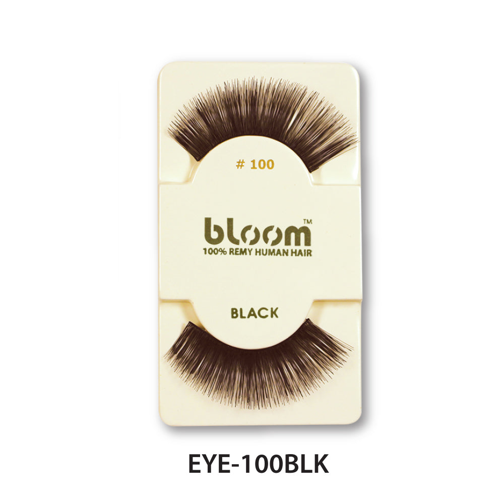 100% HUMAN EYE LASHES 100# BLACK
