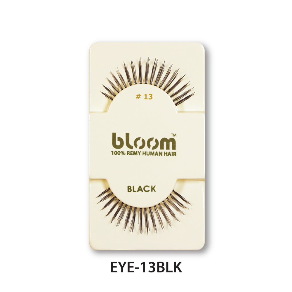 100% HUMAN EYE LASHES 13# BLACK