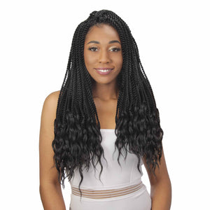 3X SENEGAL TWIST GODDESS LOC