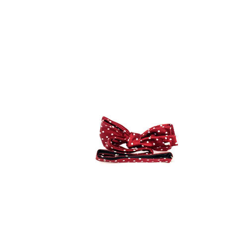 Bow Tie Red Polka