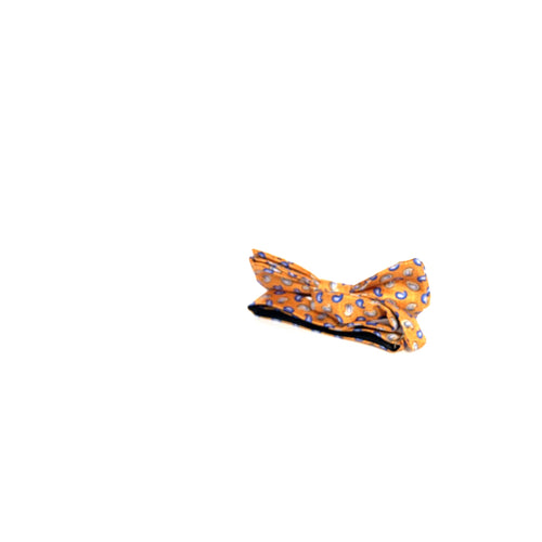 Bow Tie Orange Paisley