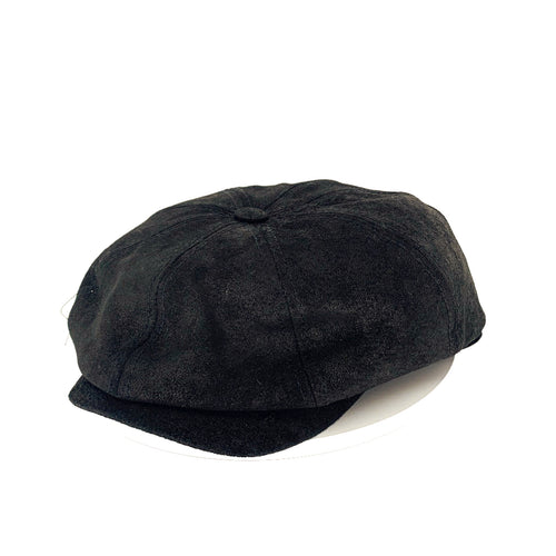 Leather cap by Stetson