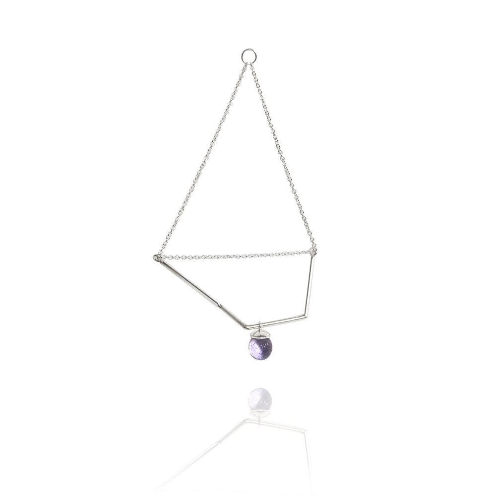 Load image into Gallery viewer, 1 | Chain Orb Shift IV Earring