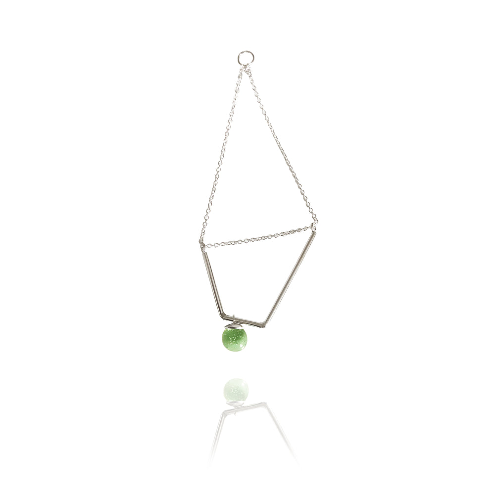 2 | Chain Orb Shift Earring II