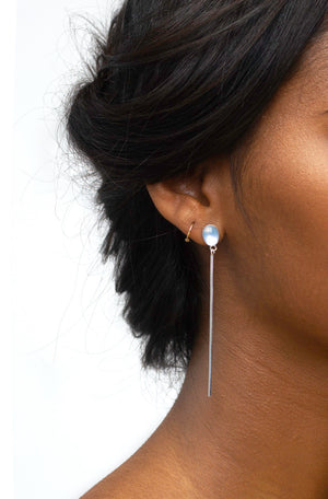 Long Kinetic Shift III Earrings