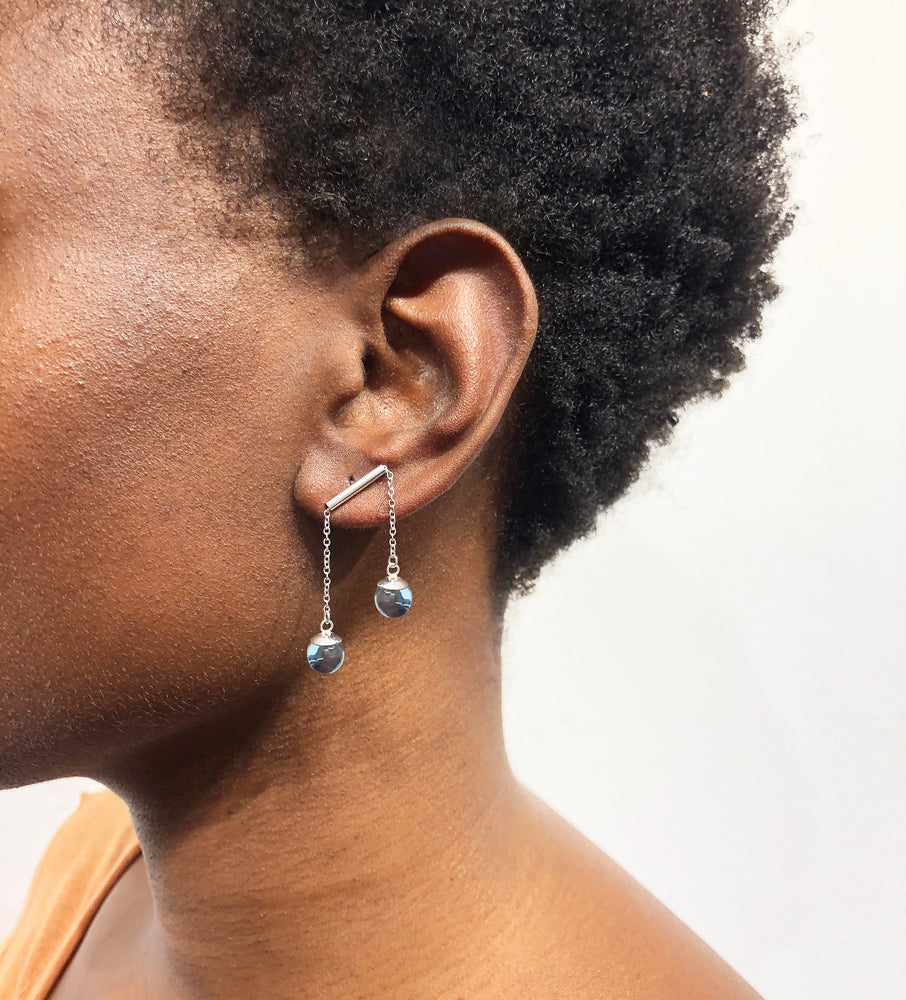 Load image into Gallery viewer, Orb Note Earrings III