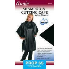 Annie Shampoo And Cutting Cape