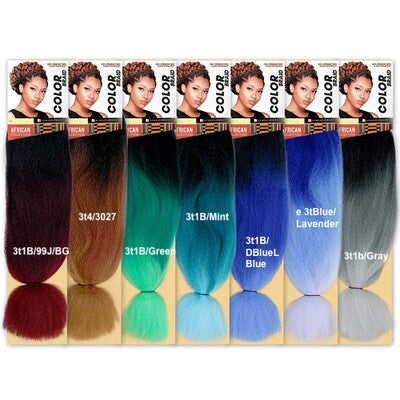 Sensationnel African Collection Color Braid Ombre