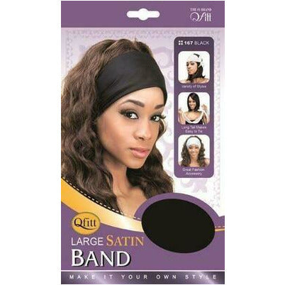 Qfitt Large Satin Band