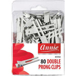Annie Double Prong Clips Metal