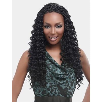 "Kima Braid Ripple Deep 14"" Crochet"