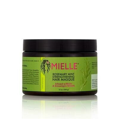 Mielle Organics Rosemary Mint Strengthening Hair Masque 12 oz