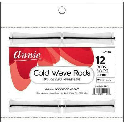 Cold Wave Rods Short White