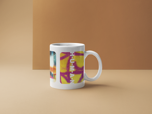 Graffiti White Coffee Mug