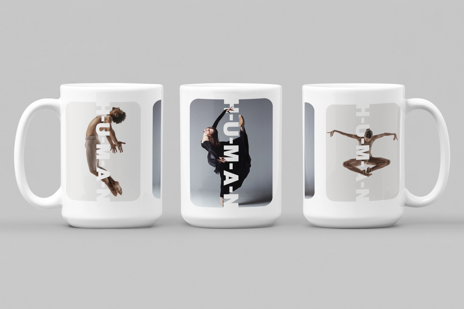 Dancers White Coffee Mug