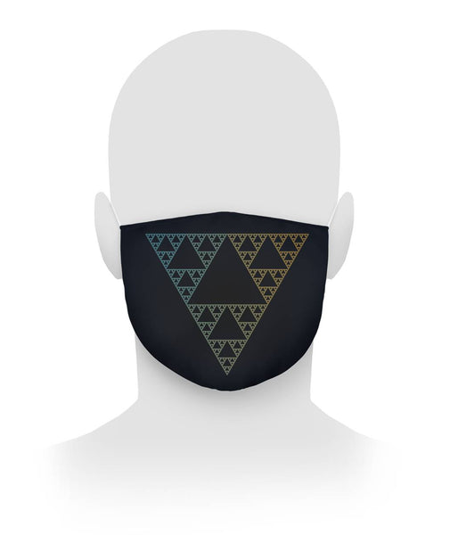 Sierpinski Triangle, Face Mask Cloth Face Mask