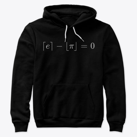 The Most Beautiful Equation, Premium Pullover Hoodie