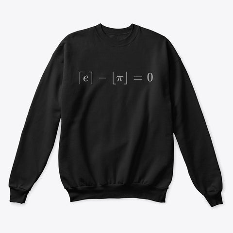 The Most Beautiful Equation, Classic Crewneck Sweatshirt
