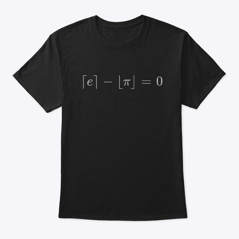 The Most Beautiful Equation, Classic Tee