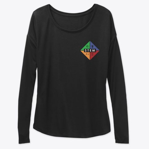 STEMblem Merch, Women's Flowy Long Sleeve Tee