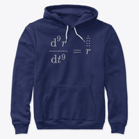 Cursed Math Memes: Newton's Abomination, Premium Pullover Hoodie
