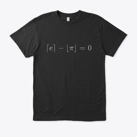 The Most Beautiful Equation, Eco unisex Tee