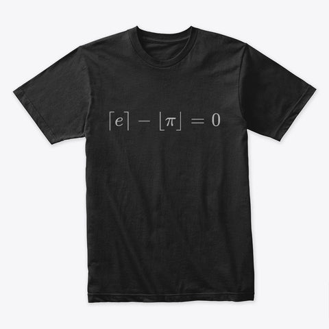 The Most Beautiful Equation, Premium Tee