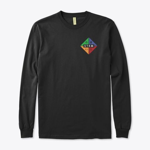 STEMblem Merch, Organic Long Sleeve Tee