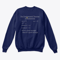 Fundamental Theorem of Engineering, Classic Crewneck Sweatshirt