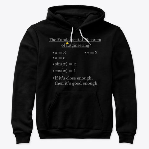 Fundamental Theorem of Engineering, Premium Pullover Hoodie