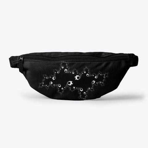 Julia Fractal Grey Color Coding, Fanny Pack