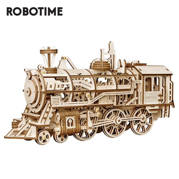 Mechanical Locomotive by Rokr (Assembly Required)
