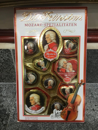 Gift Box Selection of Mozart Marzipans by Reber | Chocolat in Kirkby Lonsdale