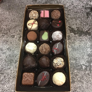 Large Luxury Boozy Chocolate Selection Box | Chocolat in Kirkby Lonsdale