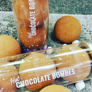 Hot Chocolate Bombe Gift Tube | Chocolat in Kirkby Lonsdale