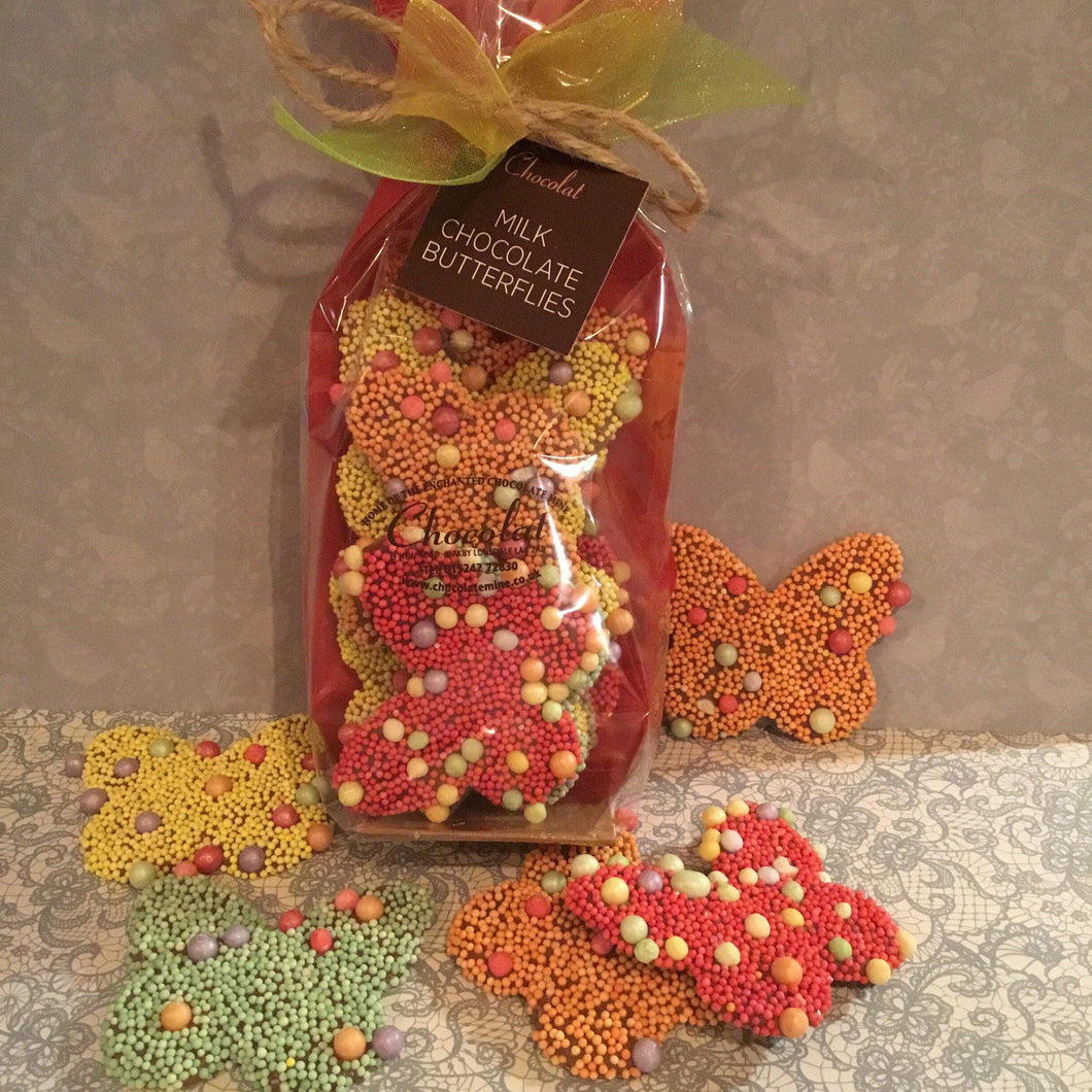 Bag of Milk Chocolate Butterflies
