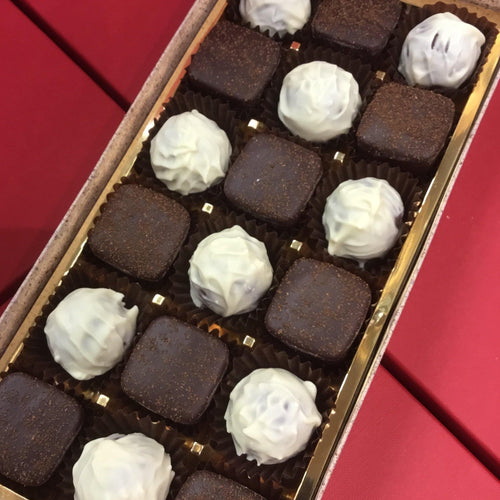 Baileys Truffle and Espresso Coffee Ganache Selection Box | Chocolat in Kirkby Lonsdale