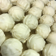 Load image into Gallery viewer, Box of White Chocolate Covered Champagne Truffles | Chocolat in Kirkby Lonsdale