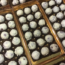 Load image into Gallery viewer, Box of Luxury White Chocolate Covered Baileys Truffles
