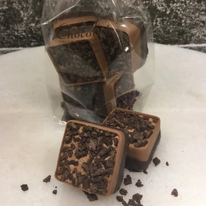 Bag of 6 Chocolate Brownie Squares | Chocolat in Kirkby Lonsdale