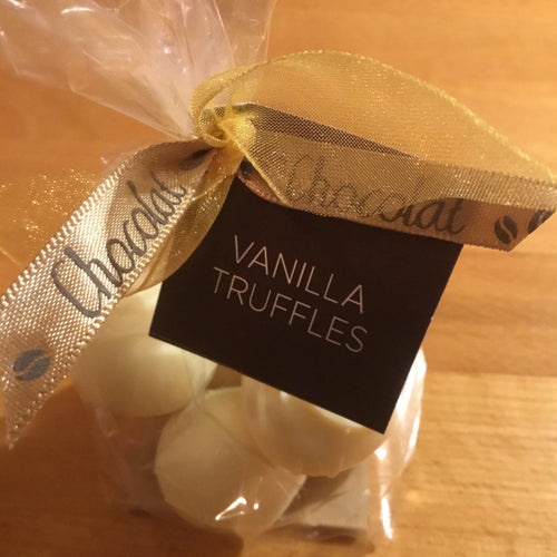 Bag of 6 White Chocolate Vanilla Truffles | Chocolat in Kirkby Lonsdale