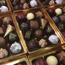Load image into Gallery viewer, Limited Edition 'Festive Flavours' Chocolate Selection Box | Chocolat in Kirkby Lonsdale