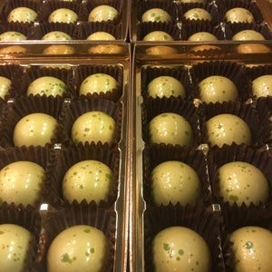 Box of Espresso Coffee Ganache Domes