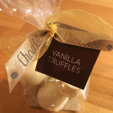 Load image into Gallery viewer, Bag of 6 White Chocolate Vanilla Truffles | Chocolat in Kirkby Lonsdale