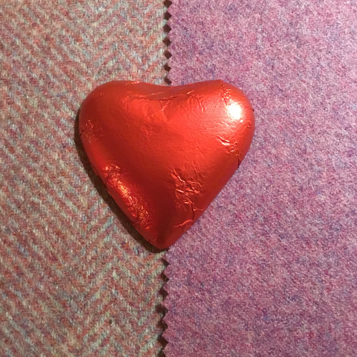 Milk Chocolate Foil Wrapped Heart | Chocolat in Kirkby Lonsdale