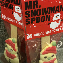 Load image into Gallery viewer, Assorted Christmas Character Hot Chocolate Spoons by HOTCHOCSPOONLUXE | Chocolat in Kirkby Lonsdale