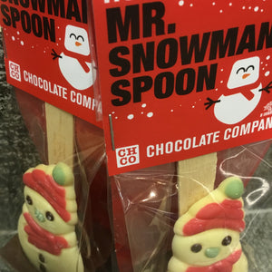 Assorted Christmas Character Hot Chocolate Spoons by HOTCHOCSPOONLUXE | Chocolat in Kirkby Lonsdale